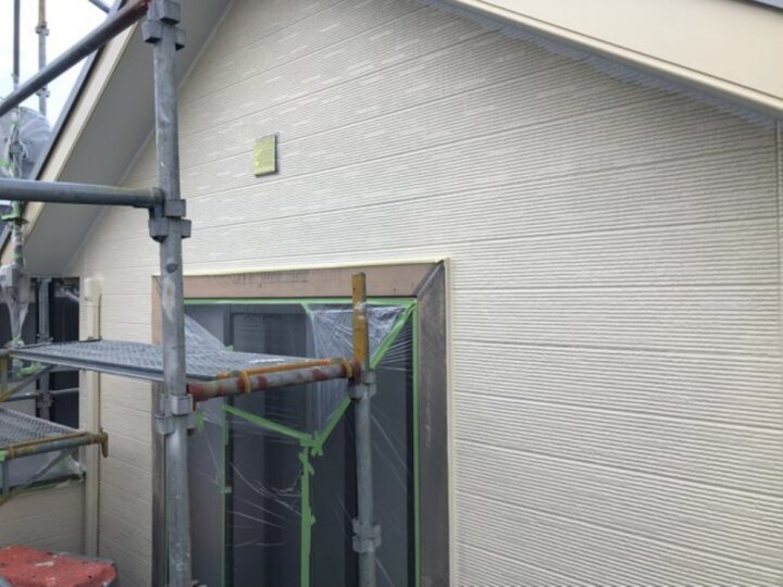 【外壁】中塗り完了
