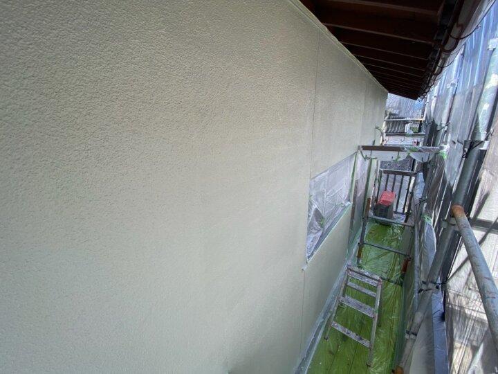 【外壁】上塗り完了