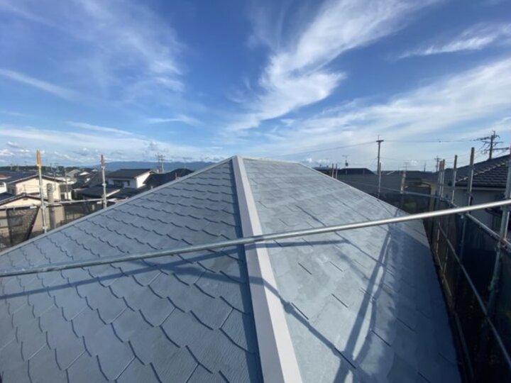 【屋根】下塗り完了