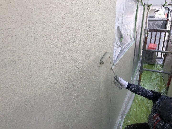 【外壁】上塗り