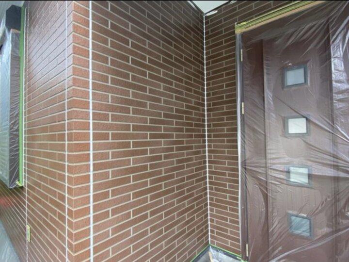 【外壁】下塗り完了