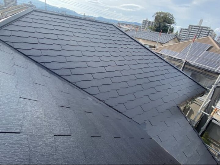【屋根】中塗り完了