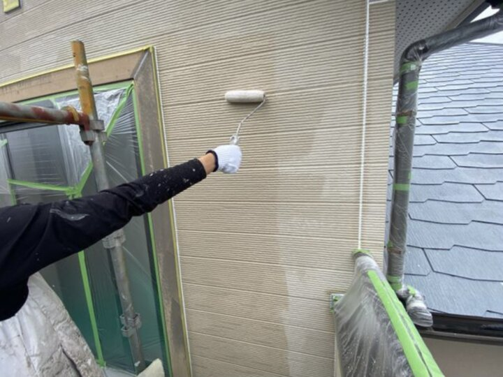 【外壁】下塗り