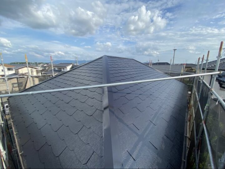 【屋根】上塗り完了